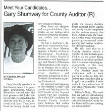 Article in Summit County News